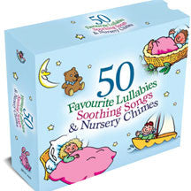 50 Favourite Lullabies & Soothing Songs 3cd Box Set (CD)