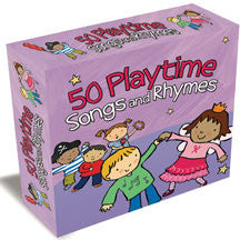 50 Playtime Songs & Rhymes 3cd Box Set (CD)