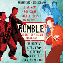 Rumble: the Best of Virginia Rockabilly (CD)