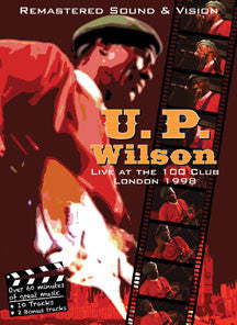 Up Wilson - Live At the 100 Club, London (DVD)