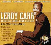 Leroy & Blackwell Carr - When the Sun Goes Down: 1934-41 (CD)
