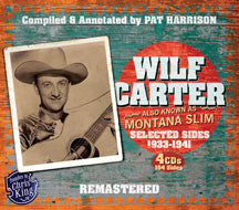 Wilf Carter - Montana Slim 1933-1941 (CD)