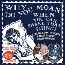 Papa Charlie & Bo Weavil Jackson - Why Do You Moan When You Can Shake That Thing? (CD)