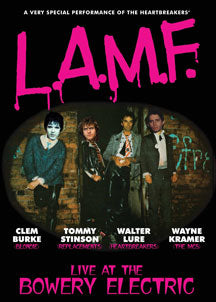 Walter Lure & Clem Burke - LAMF: Live At Bowery Electric (DVD)