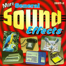 Sound Effects - More General Sound Effects (CD)