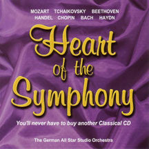 The German All Star Studio Orchestra - Heart Of The Symphony (CD)