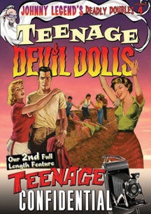 Johnny Legend's Deadly Doubles- Vol. 4: Teenage Devil Dolls (DVD)