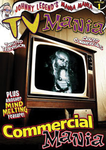 Johnny Legend's Mania Mania -tv Mania/commercial Mania (DVD)
