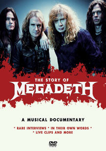 Megadeth - The Story Of (DVD)