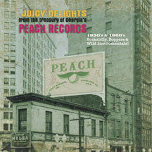 Juicy Delights - Peach Records: 1950s & 1960s Rockabilly, Boppers & Wild Instrumentals (VINYL ALBUM)