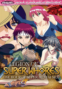 Legion Of Super Whores (DVD)