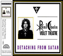 Paul Chain - Detaching From Satan (papersleeve) (CD)