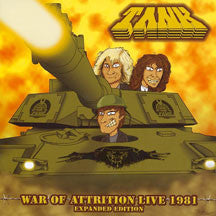 Tank - War Of Attrition (CD)
