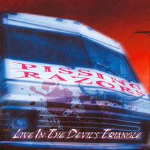 Pissing Razors - Live In The Devils Triangle (Remastered) (CD)