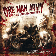 One Man Army And The Undead Quartet - Error In Evolution (CD)