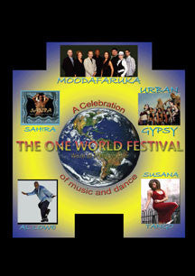 Moodafaruka & Friends - The One World Festival (DVD)