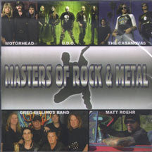 Masters Of Rock & Metal (CD)