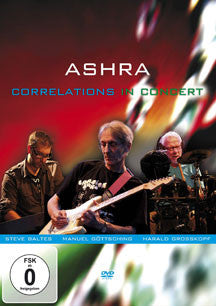 Ashra - Correlations In Concert (DVD)