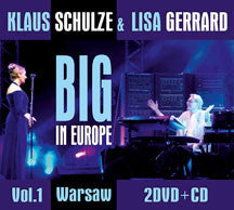Klaus  Schulze & Lisa Gerrard - Big In Europe Vol. 1 (CD/DVD)