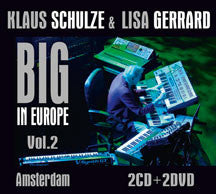 Klaus Schulze & Lisa Gerrard - Big In Europe Vol. 2: Amsterdam (CD/DVD)