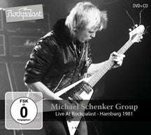 Michael Schenker Group - Live At Rockpalast: Hamburg 1981 (CD/DVD)
