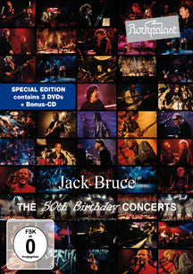 Jack Bruce - Rockpalast: The 50th Birthday Concerts (DVD/CD)