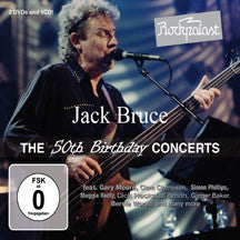 Jack Bruce - Rockpalast: The 50th Birthday Concerts (CD/DVD)