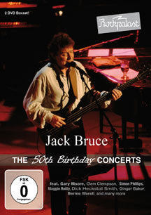 Jack Bruce - Rockpalast: The 50th Birthday Concerts (DVD)