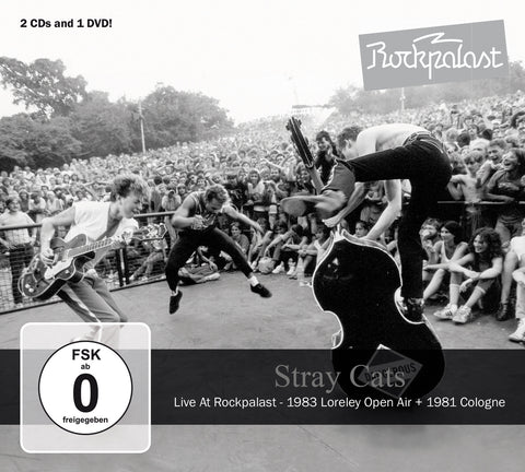 Stray Cats - Live At Rockpalast (CD / DVD Set)