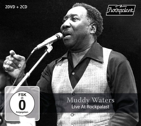 Muddy Waters - Live At Rockpalast / 2cd+2dvd (CD/DVD)