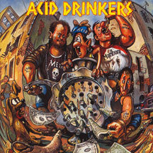 Acid Drinkers - Dirty Money, Dirty Tricks (CD)