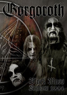Gorgoroth - Black Mass Krakow 2004 (Ltd. Star Metal Pack) (DVD)