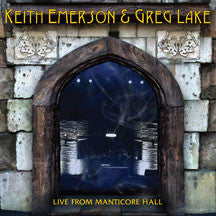 Keith Emerson & Greg  Lake - Live From Manticore Hall (CD)