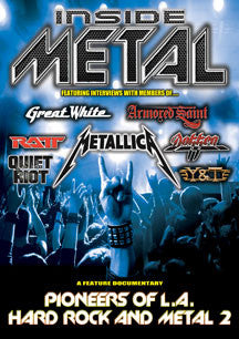 Inside Metal: Pioneers Of L.A. Hard Rock And Metal II (DVD)