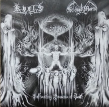 Kvele & Solemne Mortis - Suffocating Presence Of Death Split CD (CD)