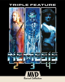 NEMESIS 2/NEMESIS 3/NEMESIS 4: TRIPLE FEATURE (BLU-RAY)