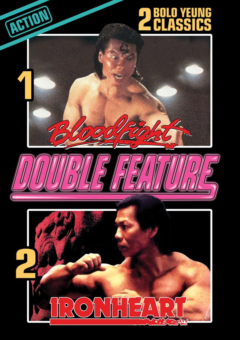 Bloodfight + Ironheart (Bolo Yeung Double Feature) (DVD)