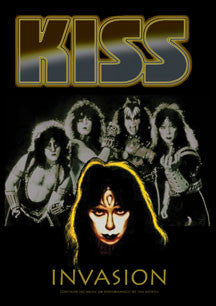 Kiss - Invasion (A Look At The Lost Egyptian God, Vinnie Vincent) (DVD)