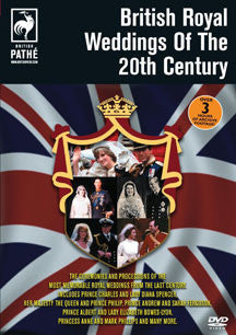 British Royal Weddings Of The 20th Century (DVD)