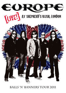 Europe - Live! At Shepherd's Bush, London (DVD)