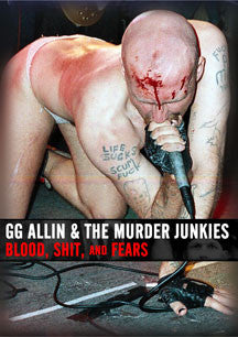 GG Allin - Blood, Shit And Fears (DVD)