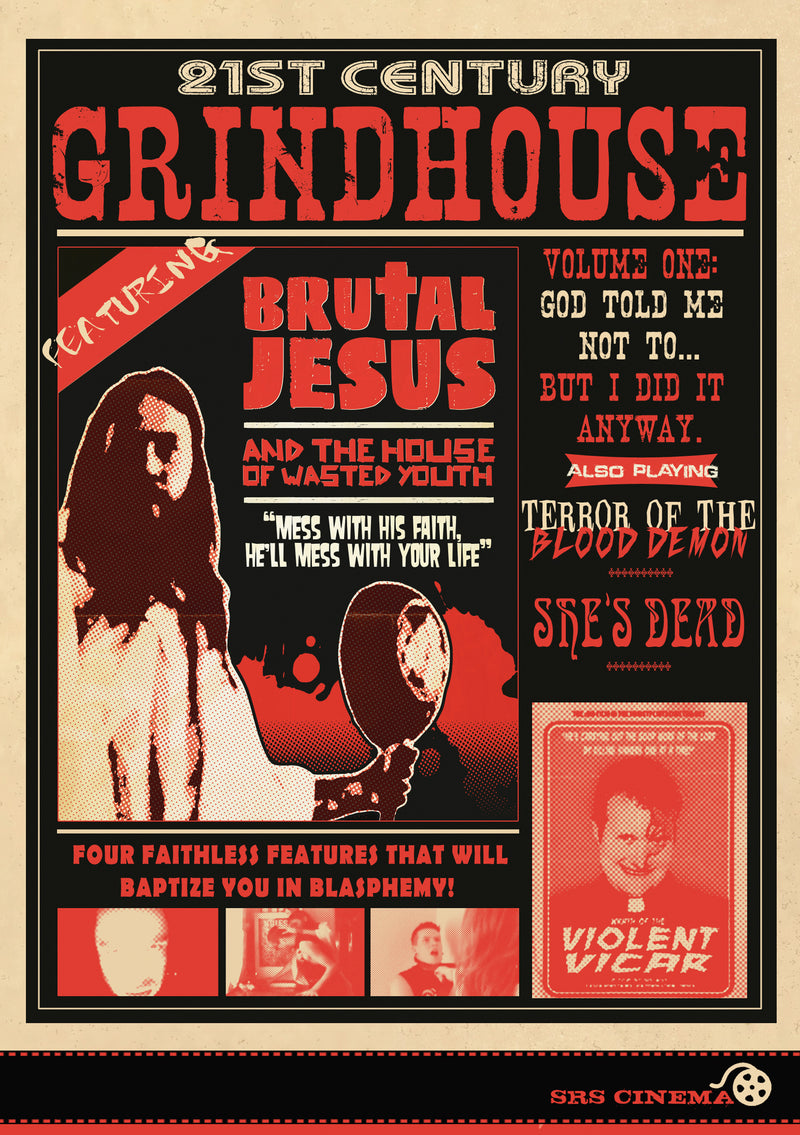 21st Century Grindhouse Vol 1: God Told Me Not To... But I Did It Anyway (DVD)