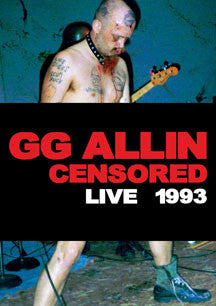 GG Allin - (Un)Censored: Live 1993 (DVD)