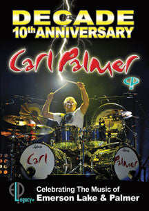 Carl Palmer - Decade: 10th Anniversary Celebrating The Music Of Emerson Lake & Palmer (DVD)