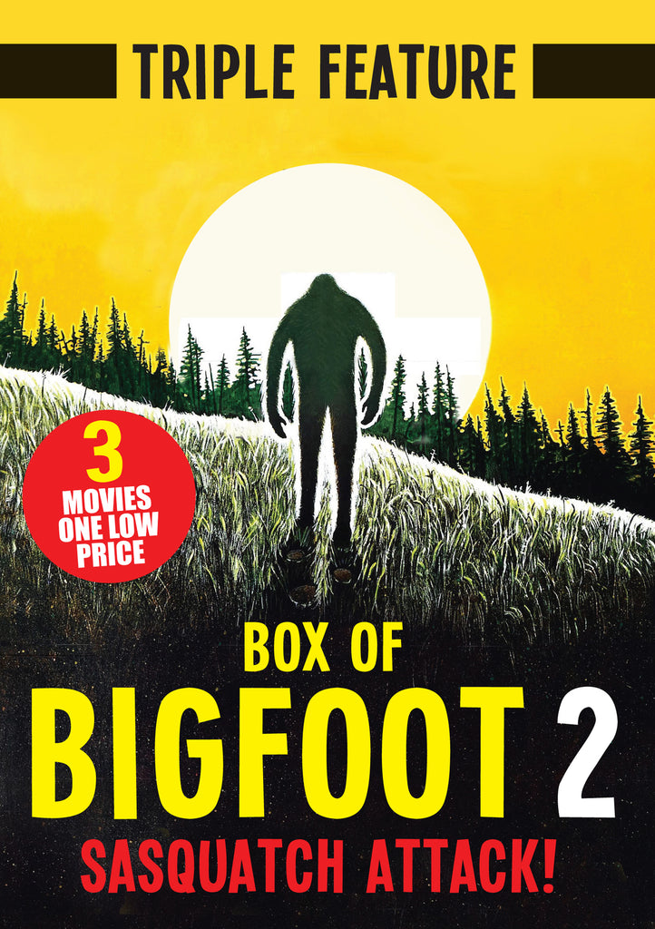 Box of Bigfoot 2: Sasquatch Attack (Triple Feature) (DVD)