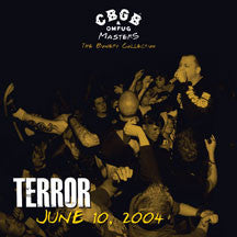 Terror - CBGB OMFUG Masters: Live June 10, 2004 The Bowery Collection (VINYL ALBUM)