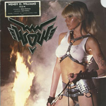 Wendy O. Williams - W.O.W. (VINYL ALBUM)
