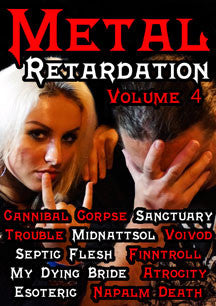 Metal Retardation Volume 4 (DVD)