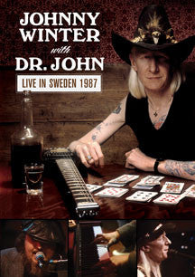 Johnny Winter & Dr. John - Live In Sweden 1987 (DVD)