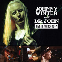 Johnny Winter & Dr. John - Live In Sweden 1987 (CD)